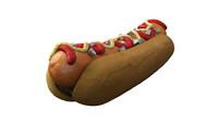 hot dog 3d ma