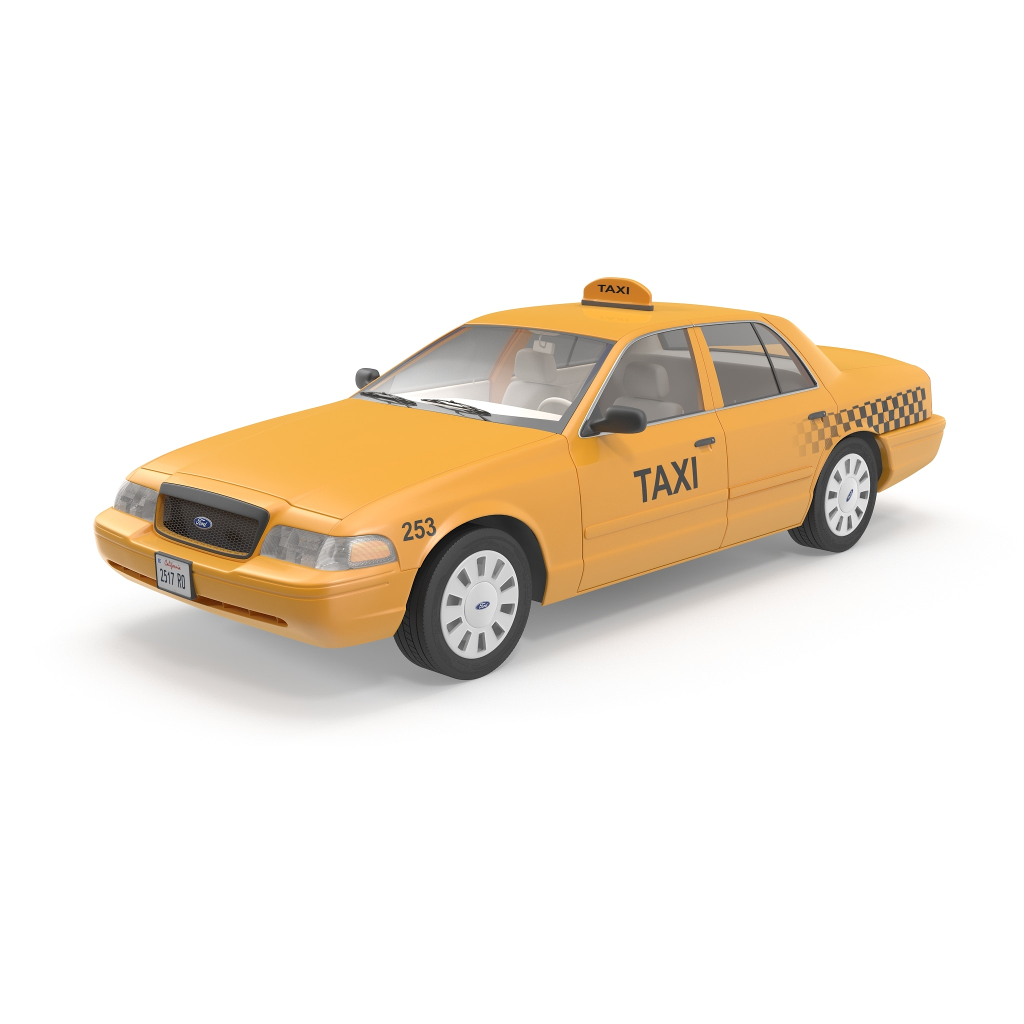 Image gallery taxi model for Ford models nyc