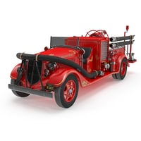 Old Fire Truck Ford