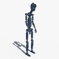 robot oddy 3d model