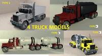 truck dump tanker 3ds