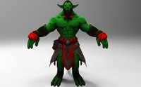 3d 3ds ready fantasy character