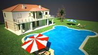 villa pool max