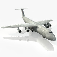 lockheed c-5 galaxy 3d max