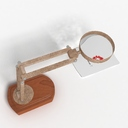 magnifying lamp 3D models