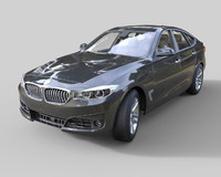3d model bmw 3 series hatchback