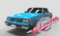 3d oldsmobile cutlass 1982