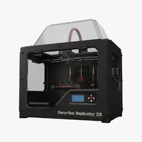3d makerbot replicator 2x