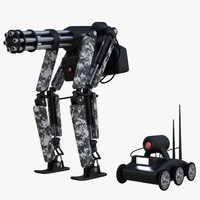 3d mech robots
