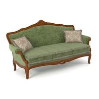 cavio sofa dg403 3d model