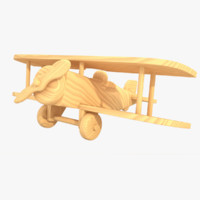 Wooden Airplane 04