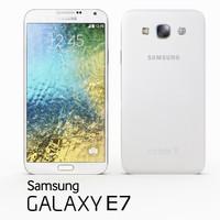 samsung galaxy e7 white 3ds