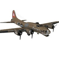 3d b-17 flying fortress