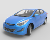 hyundai elantra sedan 3d 3ds