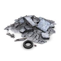 3d model junk debris