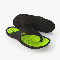 3ds max flipflops shoe footwear