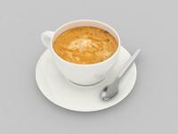 3d model cappuccino