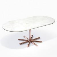 3dsmax shine - jaqueline coffee table