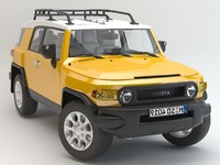 Toyota FJ Cruiser studio