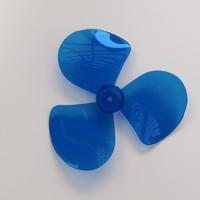 fan blade 3d 3ds