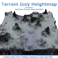 Terrain Heightmap Icey