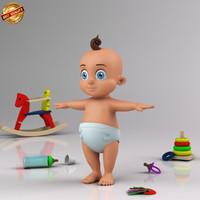 Cartoon Infant Baby