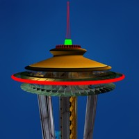 3d seattle space needle