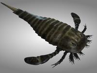 3d model sea scorpion scorpio