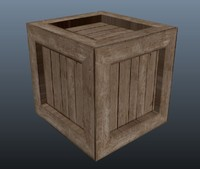 Wooden Crate (Box)