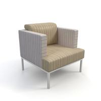 3d sofa interior model