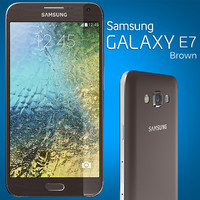 3d samsung galaxy e7 model