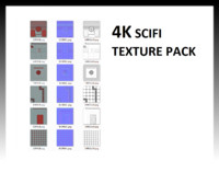 4K Scifi texture pack