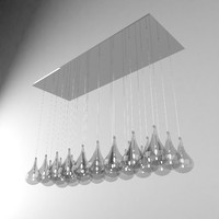 Pendant drop lamp