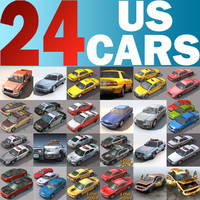 3d cars 24 model