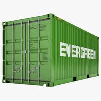3ds max cargo container