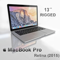 new macbook pro retina 3d model
