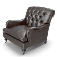 eichholtz club chair 3d max