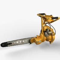 chainsaw friendship druzhba 3d max