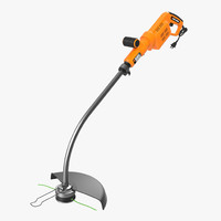 3d lawn trimmer black decker