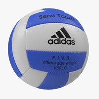 3d model volleyball ball 7 adidas