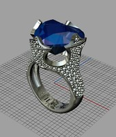 free 3ds mode jewellery ring