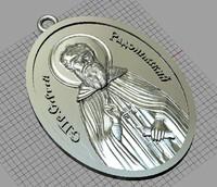 3d jewellery pendant holy
