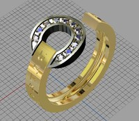 jewellery ring bvlgari 3dm