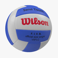volleyball ball 5 wilson 3d 3ds