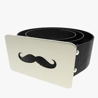 c4d buckle belt