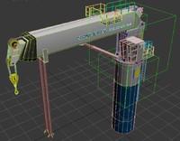 telescope crane max