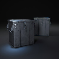 3d voyager-trunk-side-table model
