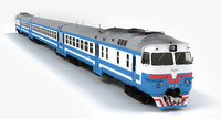 3d dr1a diesel passenger train