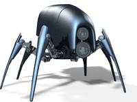 custom robot 3d max