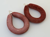 spicy sausage 3d model